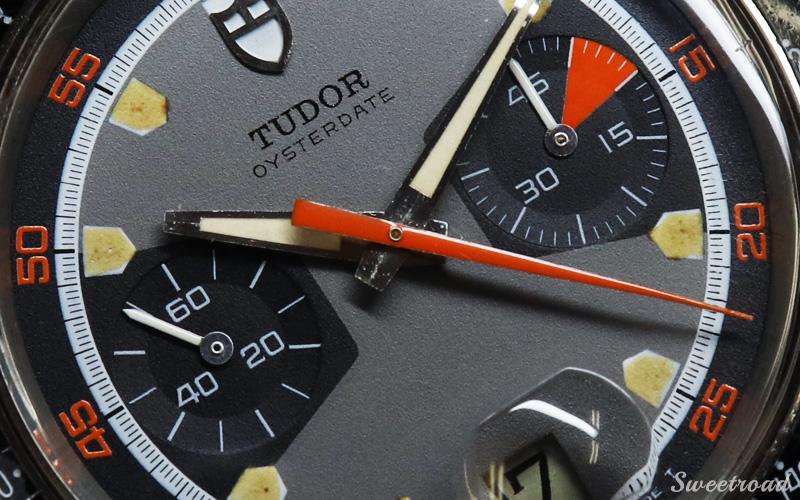 【TUDOR/チューダー/チュードル】OYSTER DATE/オイスターデイト/モンテカルロ/Ref.7031-0/ホームベース/Cal.7734/手巻きクロノグラフ/1971年製/w-21353