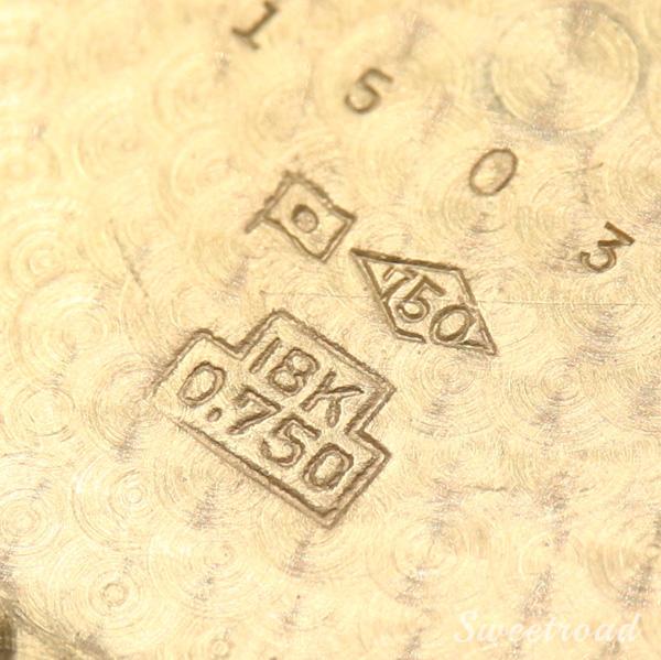 【IWC】オールドインター/筆記体ロゴ/18KYG/18金無垢/JAPAN CASE/オリジナルダイヤル/ノンデイト/Cal.853/ペラトン式自動巻/1960年製/w-21681