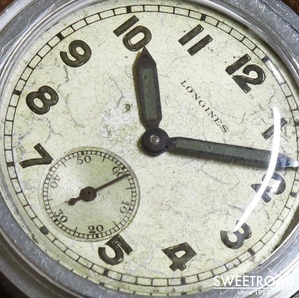 【LONGINES/ロンジン】Tre-Tacche/トレタケケース/ステップベゼル/アラビア数字/スモールセコンド/Cal.10.68Z/手巻き/1940年代/w-24647