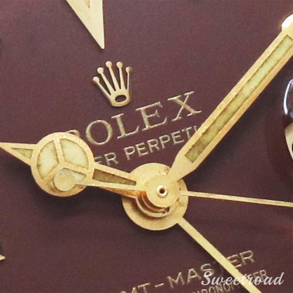 【ROLEX/ロレックス】GMTマスター/フジツボ/茶ツボ/Ref.1675/8/18KYG/Cal.1570/1969年製/w-18713