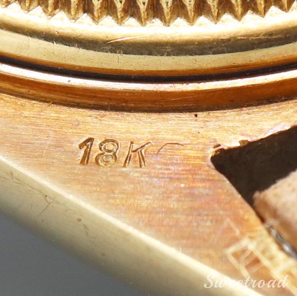 銀座店取扱品【ROLEX/ロレックス】Ref.1803/DAY-DATE/デイデイト/STELLA/ステラ/Confetti/コンフェッティ/18KYG/クロノメーター証明書付き/1970年製/w-21678GNZ
