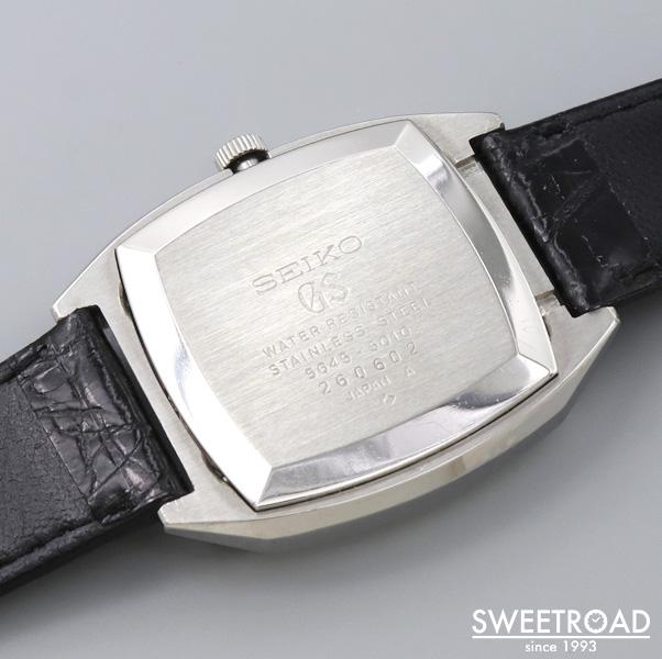 【GRAND SEIKO/グランドセイコー】56GS/Ref.5645-5010/バレル型/グラデーションダイヤル/ローマン数字/ハイビート自動巻/1972年製/w-24249