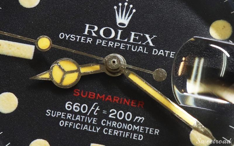 【ROLEX/ロレックス】赤サブマリーナ/RED-SUBMARINER/Ref.1680/MARK 6/マーク6/自動巻/1972年製/w-21278