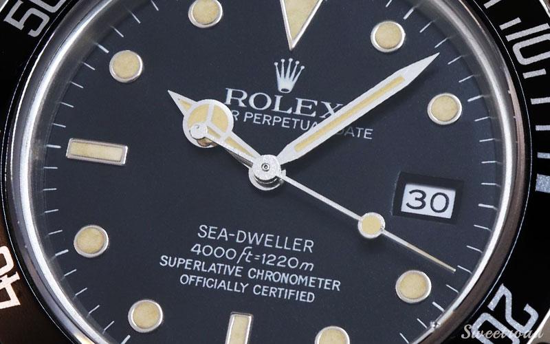 【ROLEX/ロレックス】SEA DWELLER/シードゥエラー/Ref.16660/トリプルシックス/純正BOX・ギャランティ付き/1985年製/w-21935