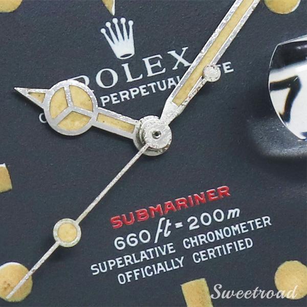 【ROLEX/ロレックス】Submariner/サブマリーナ/赤サブ/Ref.1680/パティーナ/メキシコジュビリーブレス/Cal.1570/1969年製/w-21125
