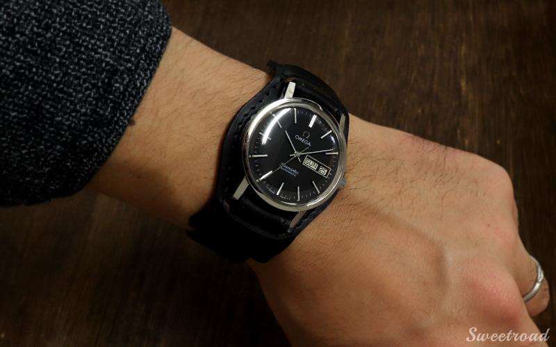 新品【レザーベルト/革ベルト】オープンエンド/本革製/時計ベルト/腕時計ベルト/腕時計バンド/接続幅:18mm/3p-2