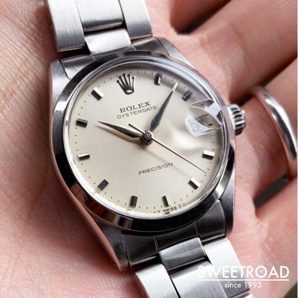 【ROLEX/ロレックス】OYSTER DATE/オイスターデイト/Ref.6466/ボーイズサイズ/Cal.1210/1961年製/w-21950