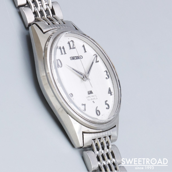 【SEIKO/セイコー】LORD MATIC/ロードマチック/Ref.5601-9000/LM/絹目文字盤/Cal.5601A/自動巻/1972年製/w-24370