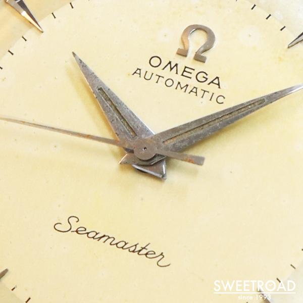 銀座店取扱品【OMEGA/オメガ】Seamaster/シーマスター/Ref.2767-3SC/Cal.354/ハーフローター式自動巻/1954年製/w-22781GNZ