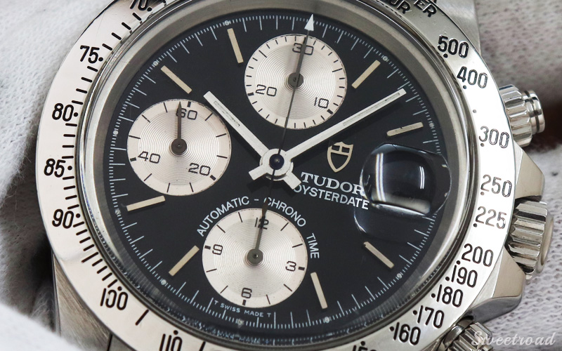 【TUDOR/チューダー/チュードル】CHRONO-TIME/クロノタイム/Ref.79180/B番/カマボコケース/SSベゼル/Cal.7750/1995年製/w-21085