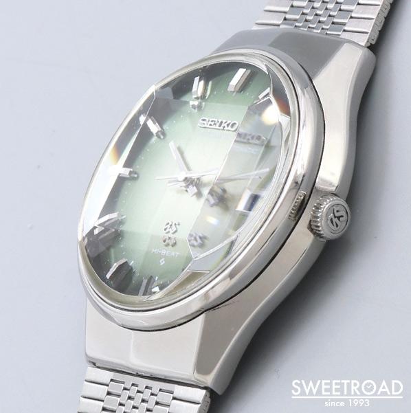 【GRAND SEIKO/グランドセイコー】56GS/Ref.5646-7020/オリジナルグリーンダイヤル/カットガラス/カバードラグ/自動巻/1972年製/w-23755