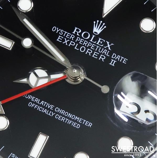 【ROLEX/ロレックス】EXPLORER-Ⅱ/エクスプローラー2/Ref.16570/U番/トリチウム夜光/純正BOX・ギャランティ・タグ/Cal.3185/自動巻/1997年製/w-24103