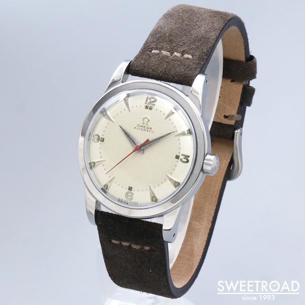 VIN-TIME取扱品【OMEGA/オメガ】Ref.2577-5/Cal.351/ハーフローター式/1950年製/w-23728vt