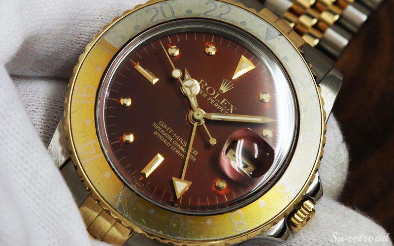 銀座店取扱品【ROLEX/ロレックス】GMTマスター/Ref.16753/純正YGコンビブレス/Cal.3075/1979年製/w-20991GNZ