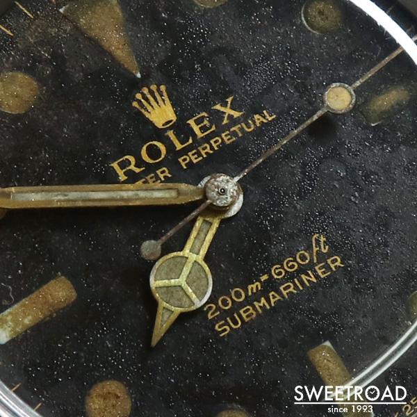銀座店取扱品【ROLEX/ロレックス】SUBMARINER/サブマリーナ/Ref.5513/メーターファースト/初期型/PCG/自動巻/1964年製/w-21224GNZ