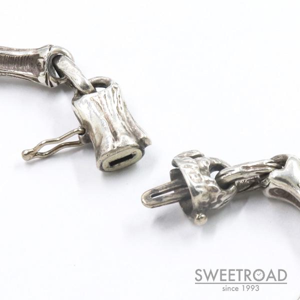 【TIFFANY&Co./ティファニー】バンブーリンク・ブレスレット//925シルバー・銀無垢/w-24901