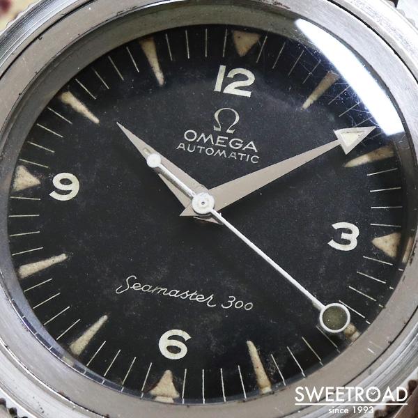 【OMEGA/オメガ】SEAMASTER 300/シーマスター300/1stモデル/前期型/Ref.2913-3SC/Cal.501/自動巻/1958年製/w-19853