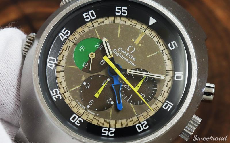 VIN-TIME取扱品【OMEGA/オメガ】flightmaster/フライトマスター/前期型/Ref.145.013/Cal.910/手巻きクロノグラフ/1969年製/w-20759VT