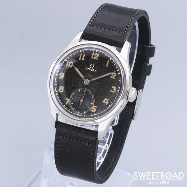 VIN-TIME取扱品【OMEGA/オメガ】SUVERAN/スヴェラン/北欧市場モデル/Ref.2400-7/ブラックミラーダイヤル/Cal.30T2PC/1940年代/w-23262vt