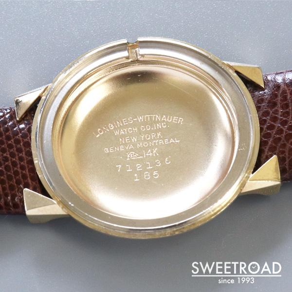 【LONGINES/ロンジン】14KYG/Cal.280/1959年製/w-24894