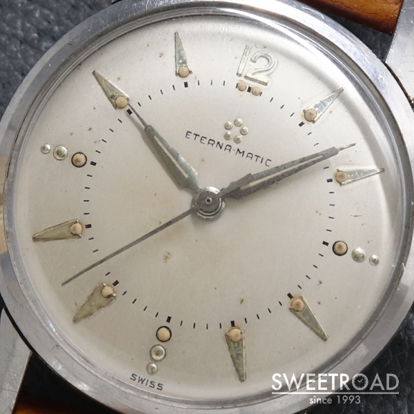 【ETERNA/エテルナ】Eterna Matic/エテルナマチック/Cal.1414U/1960年代/w-20697