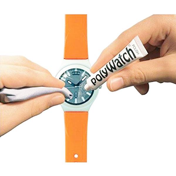 【PolyWatch/ポリウォッチ】風防用研磨剤/プラスチック風防磨き/時計の風防や液晶画面にもOK/内容量:5g/pw-1