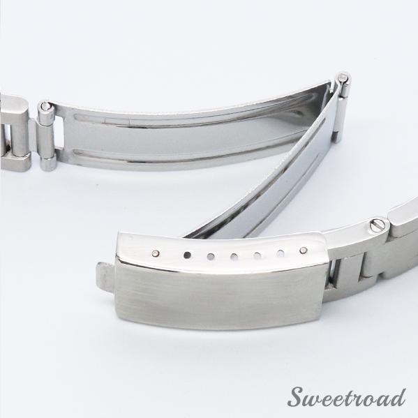 新品【接続幅18mm/腕時計用ステンレスブレス】直管タイプ/ストレート/ステンレスベルト/コマ間・ネジ式/ssst-18-1