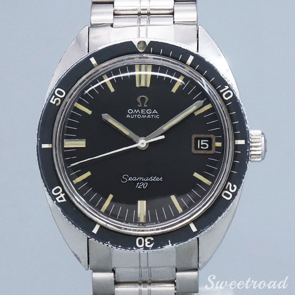 銀座店取扱品【OMEGA/オメガ】Seamaster 120/シーマスター120/Ref.166.027/Cal.563/1968年製/w-21578GNZ