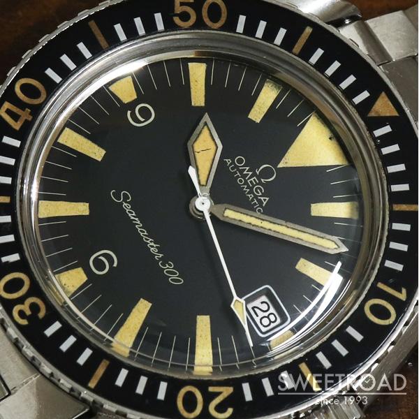 【OMEGA/オメガ】Seamaster 300/シーマスター300/Ref.166.024.67/3rdモデル/Cal.565/1968年製/w-25001