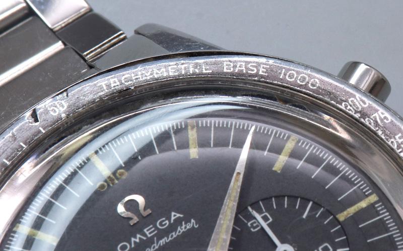【OMEGA/オメガ】スピードマスター・2ndモデル/Ref.2998-6/1000タキメーター/オリジナルブラックダイヤル/純正キャタピラブレス/Cal.321/手巻きクロノグラフ/1962年製/w-21402
