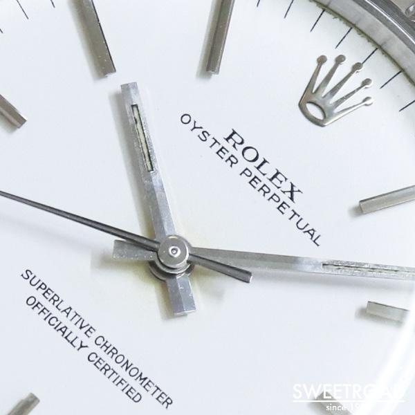 【ROLEX/ロレックス】Oyster Perpetual/オイスターパーペチュアル/Ref.1003/ホワイトダイヤル/エンジンターンドベゼル/Cal.1570/1969年製/w-23590