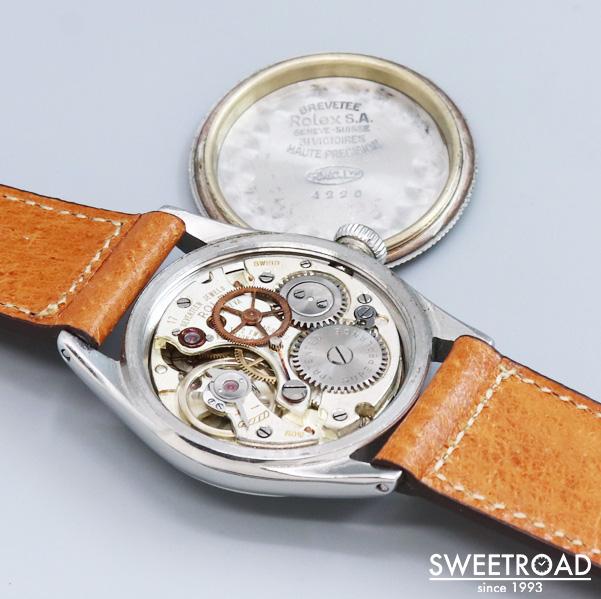 VIN-TIME取扱品【ROLEX/ロレックス】Oyster Speedking/オイスター・スピードキング/Ref.4220/3バカ/Cal.710/手巻き/1942年製/w-18364VT