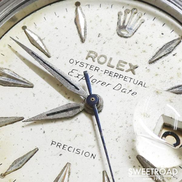 VIN-TIME取扱品【ROLEX/ロレックス】EXPLORLER DATE/エクスプローラー・デイト/Ref.5700/カナディアンエクスプローラー/バタフライローター/Cal.1530/自動巻/1960年製/w-23591VT