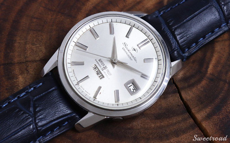 【SEIKO】SPORTSMATIC WEEKDATER/WATER 30 PROOF/DAY-DATE/Ref.6206-8990/Cal.6206A/1964年製/w-20614