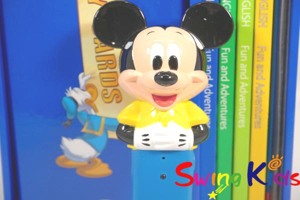 ミッキーマジックペンアドベンチャーセット クリーニング済 2013年購入 新品同様多数 DWE ディズニー英語システム A【20210309037】