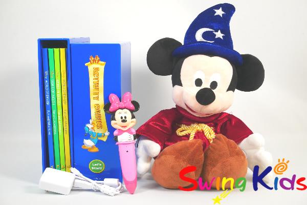 最新 ミニーマジックペンアドベンチャーセット クリーニング済 2019年購入 新品同様多数 DWE ディズニー英語システム 【20210104337】