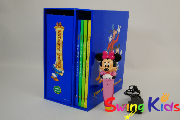 DWE ディズニー英語システム ミニーマジックペンアドベンチャーセット クリーニング済 2013年購入 【20201204137】