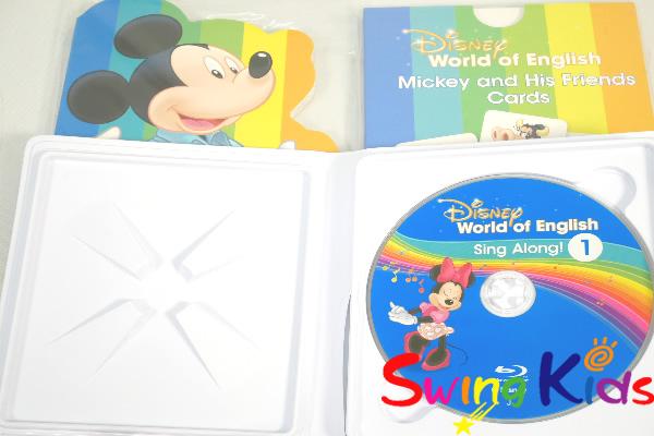 最新版 ミッキーパッケージ ブルーレイバージョン クリーニング済 2020年購入 未開封・新品同様多 DWE ディズニー英語システム MTDS【20210505401】