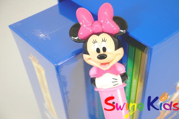 DWE ディズニー英語システム ミニーマジックペンアドベンチャーセット クリーニング済 2017年購入 動作良好 【20210307337】