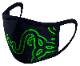 Razer Cloth Mask -グリーン 布マスク