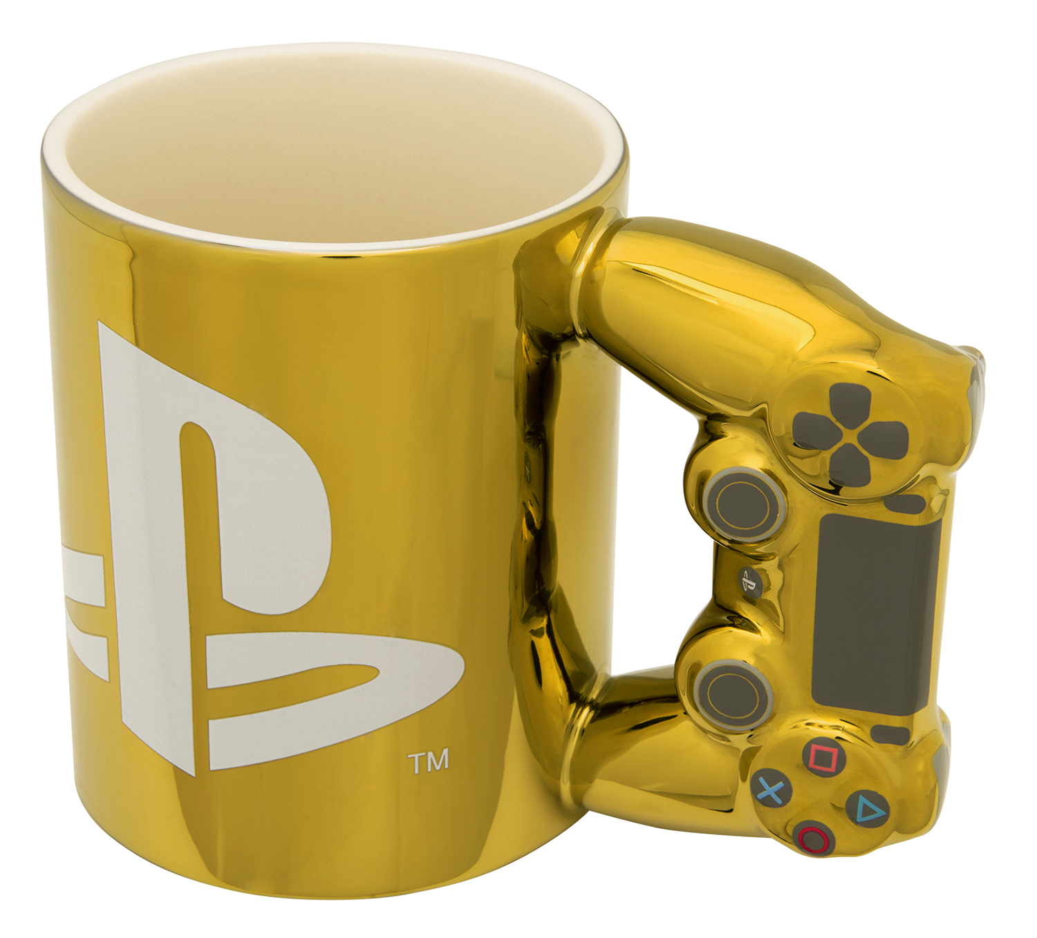 Paladone Gold Controller Mug / PlayStation™