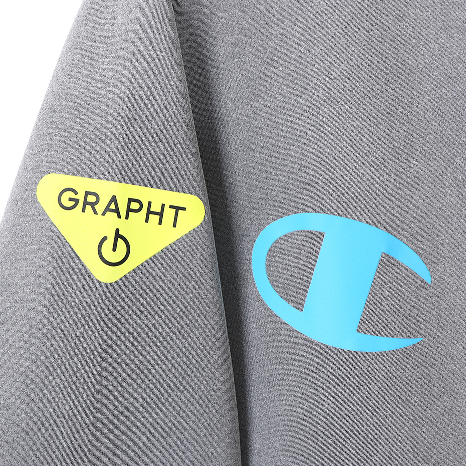 Champion_Team GRAPHT_GAMING HOODIE_Gray_Msize