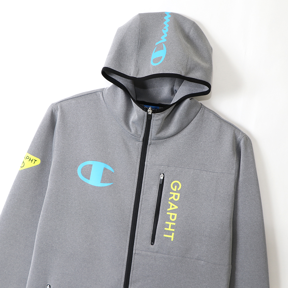 Champion_Team GRAPHT_GAMING HOODIE_Gray_Lsize