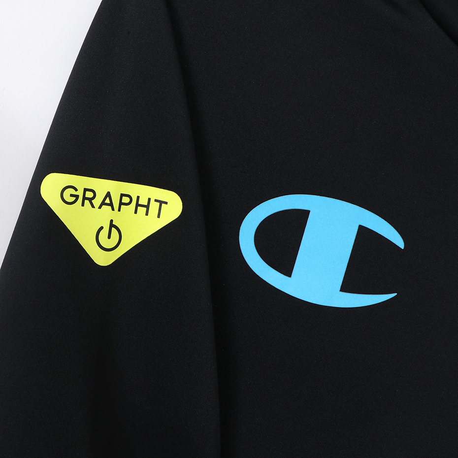 Champion_Team GRAPHT_GAMING HOODIE_Black_Msize