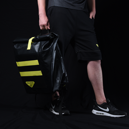 Team GRAPHT Shield Backpack for Arcade Stick