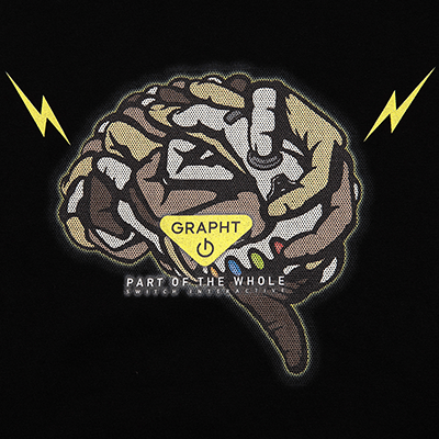 GRAPHT BRAIN Tee - XL