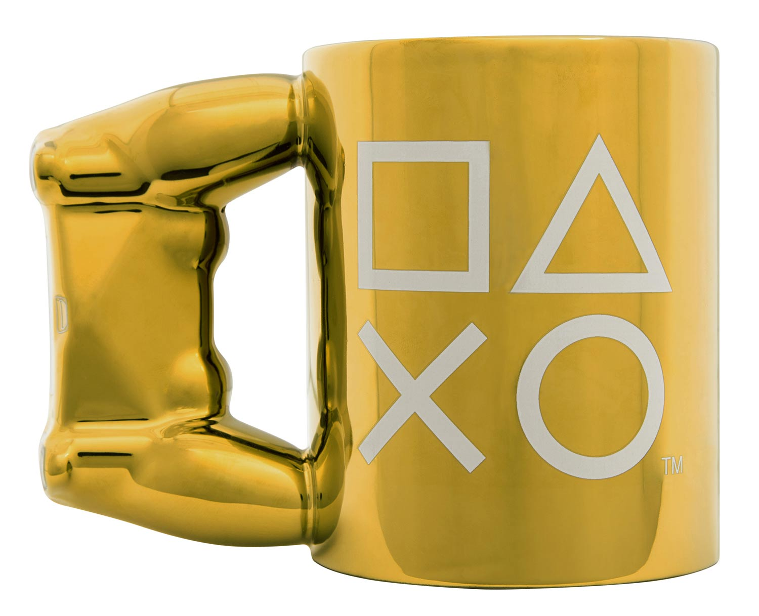 Paladone Gold Controller Mug / PlayStation™ 新パッケージ