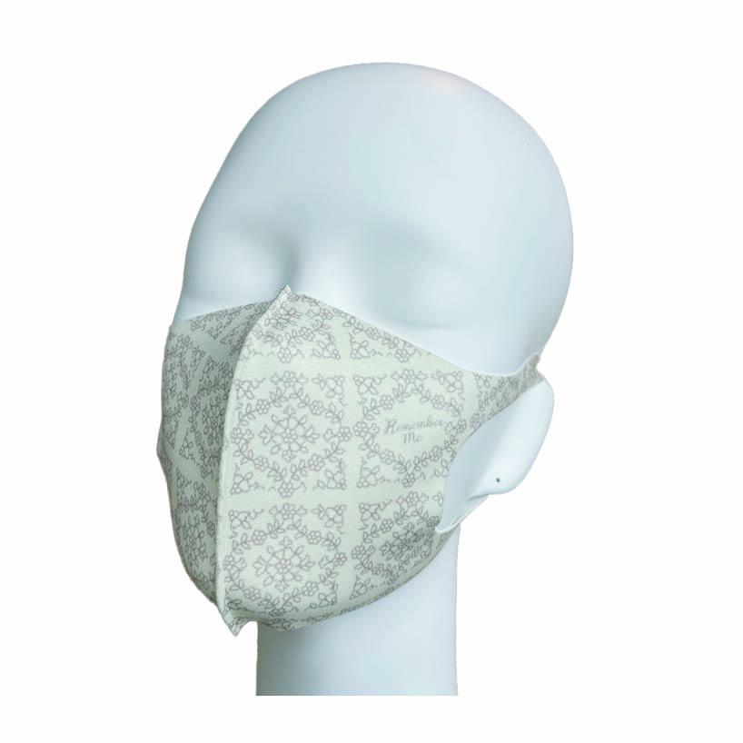 洗えるマスク(ヴィンテージフラワー)ハンカチ連動