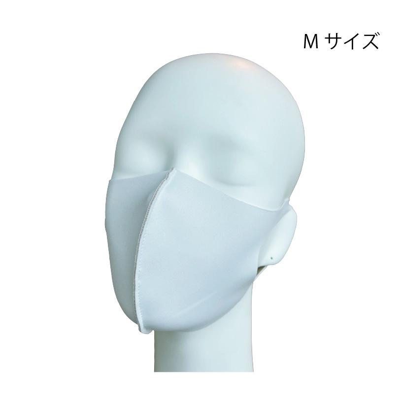 洗える冷感マスク 裏ベージュ仕様(キシリトール加工接触冷感)Mサイズ2枚セット