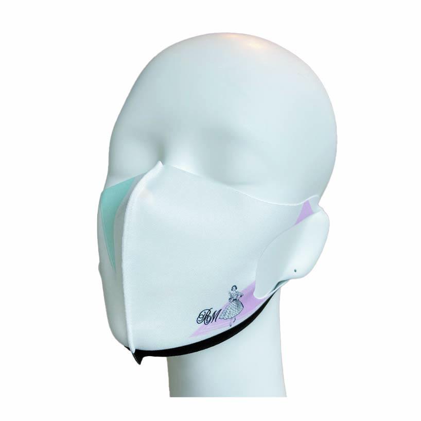 洗えるプリントマスク(ファッションイラスト)ハンカチ連動